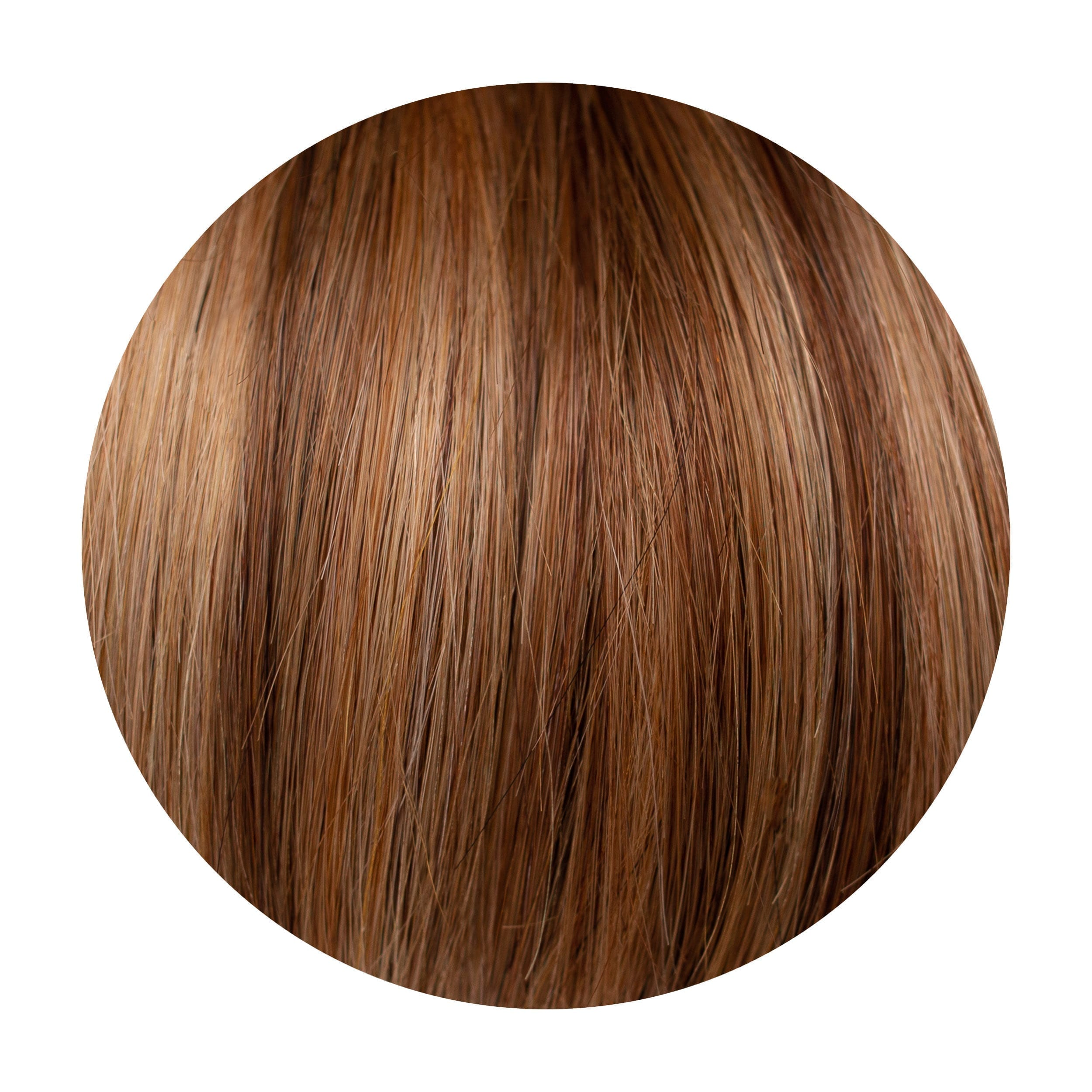 Caramel Blend Piano Colour Human Hair Extensions Clip in 1 Piece