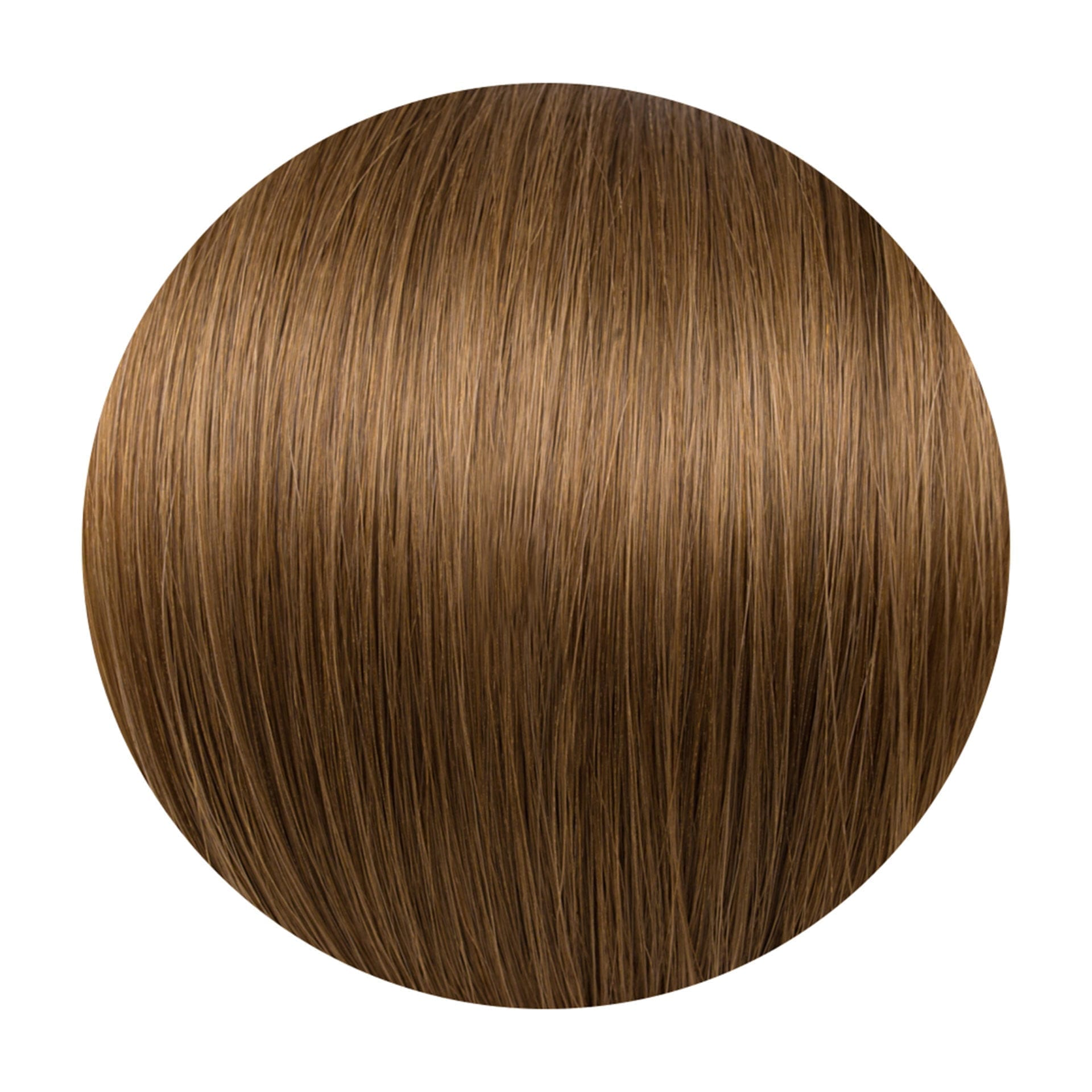 Caramel Human Hair Extensions Clip in 5 Piece