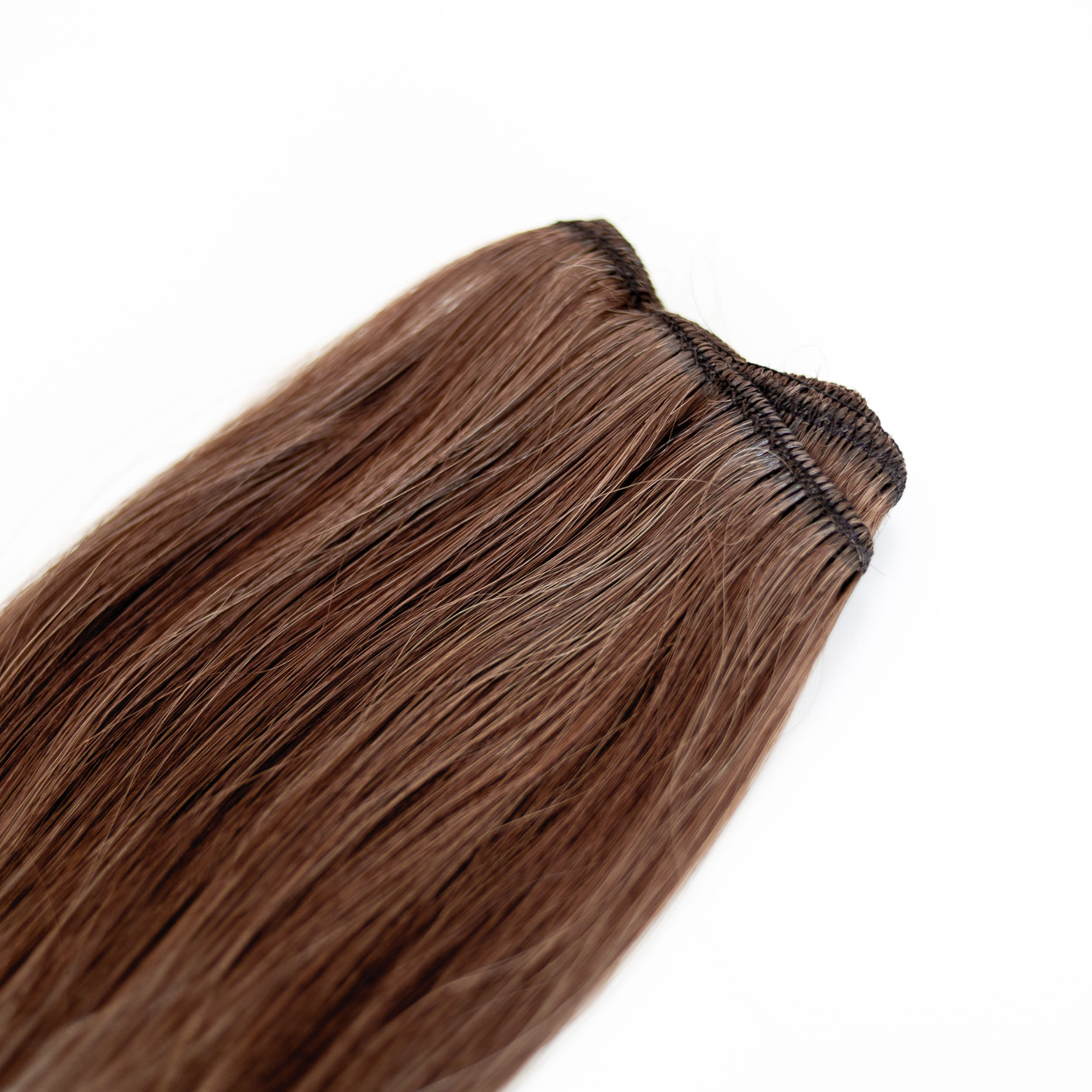 Mocha Weft Hair Extensions Ultimate 24 Inch